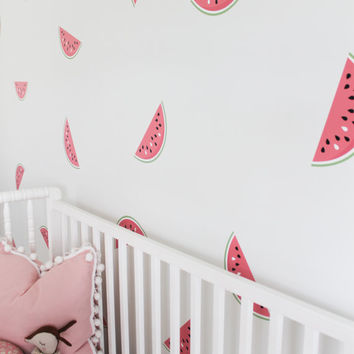 Vinyl Wall Sticker Decal Art - Watermelons