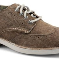 Sperry Top-Sider Cloud Logo Harbor Canvas Oxford BrownCanvas, Size 8.5M  Men's Shoes