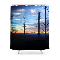 Society6 Great Smoky Mountains Shower Curtain
