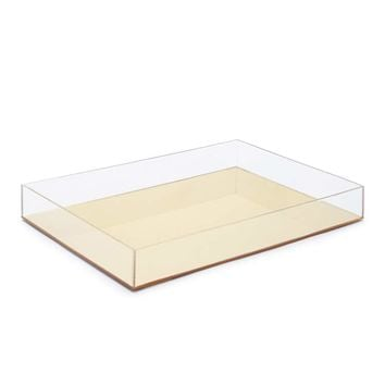 Mirrored Storage Tray