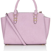 Georgia Winged Handheld Bag | Purple | Accessorize