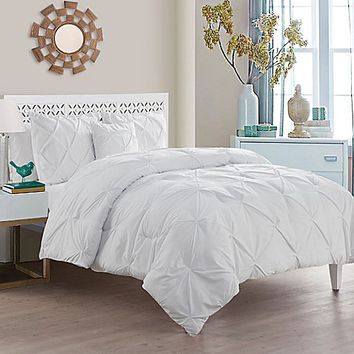 VCNY Home Carmen Comforter Set in White