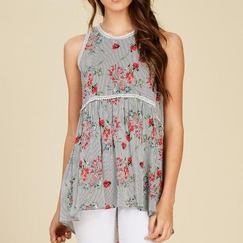 Romance is Alive Baby Doll Top