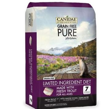 Canidae Pure Stream Trout Dry Cat & Kitten Food 2.5lbs