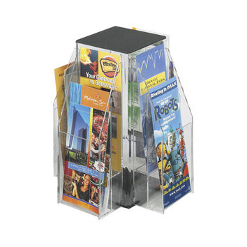 Safco Products 5696CL Reveal? Clear 8 Pamphlet Tabletop Displays