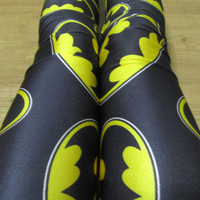 Batman Leggings / Yoga Leggings
