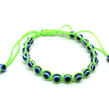 Fashion OL Style Evil Eye Bracelet For Women of Multicolor Cute Eyes Bracelets & Bangles friendship bracelets