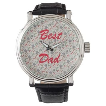 Best Dad. Wristwatches