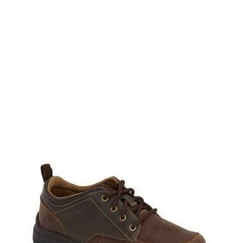 Toddler Boy's Timberland 'Discovery Pass' Waterproof Leather Oxford Sneaker,