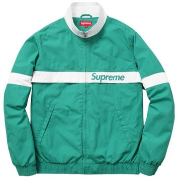 Supreme Court Jacket Teal