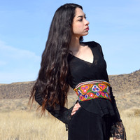 embroidered gypsy corset belt