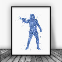 Star Wars Stormtrooper Art Print Poster