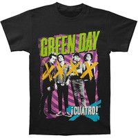 Green Day Men's  Hypno 4 T-shirt Black