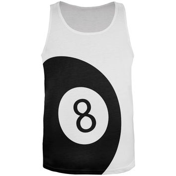 8 Ball All Over Adult Tank Top