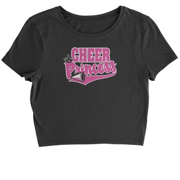 Cheer Princess Cropped T-Shirt