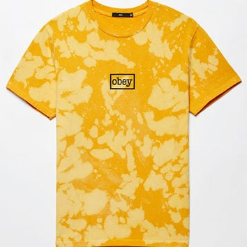 OBEY Bleached Typewriter T-Shirt at PacSun.com