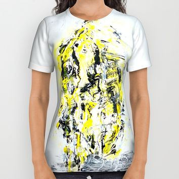 Mirrorface All Over Print Shirt by Arte Cluster