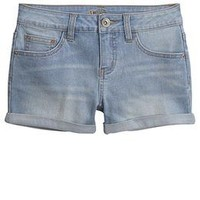 Roll Cuff Denim Shorts | Girls Clothes New Arrivals | Shop Justice