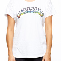 Bullshit Rainbow Tee - Shop Jeen - powered by Hingeto