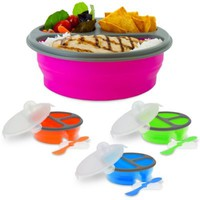 SmartPlanet Round Collapsible Meal Kit