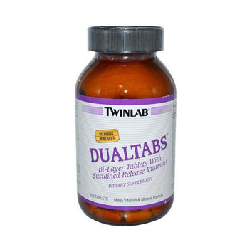 Twinlab Dualtabs - 200 Tablets