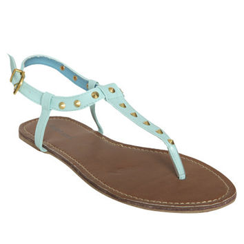 Pyramid Studded Sandal   Shop Shoes at Wet Seal