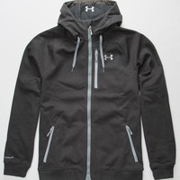 Under Armour Storm Coldgear Infrared Dobson Softshell Mens Jacket Charcoal  In Sizes