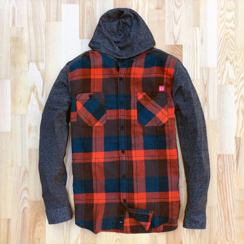 Spotter Hybrid Hooded Flannel