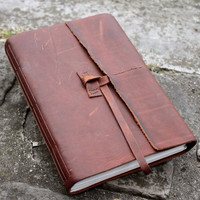 The Wanderer Brown Leather Journal