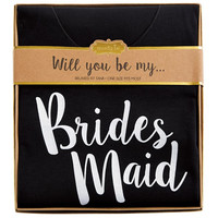 MUD PIE: Bridesmaid Tank - Black