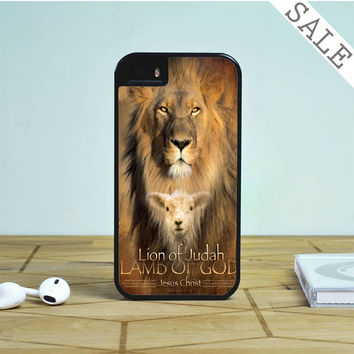 Lion Quote Bible Verse For iPhone | Samsung Galaxy | HTC Case