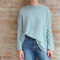 Becca Bow Back Top - sage