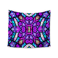 "Art Love Passion ""Kaleidoscope Dream"" Pink Purple Wall Tapestry"