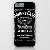 Johnny Cash inspired by jack daniel iphone case, smartphone