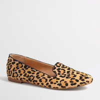 Factory leopard calf hair Cora loafers