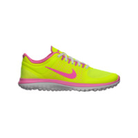 Nike FS Lite Run 3.5y-7y Girls' Running Shoes - Volt Ice