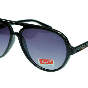Ray Ban Cats 5000 Classic RB4125 Purple Black Sunglasses