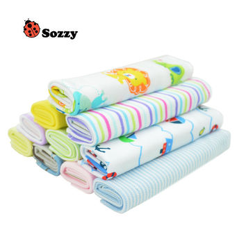8pcs/lot Sozzy Baby Kids Towel Lots Infant Toddler Soft Bath Kerchief Child Wipe Washcloth