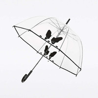 Clear Pug Dome Umbrella - Urban Outfitters
