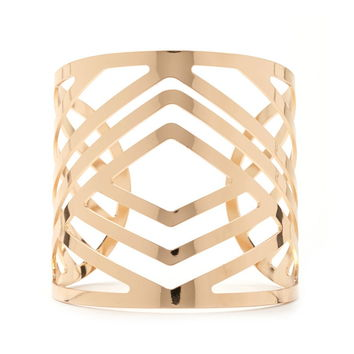 Chevron Cutout Cuff