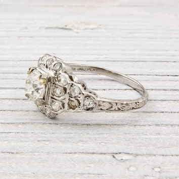 .70 Carat Diamond Antique Engagement Ring | Shop | Erstwhile Jewelry Co.