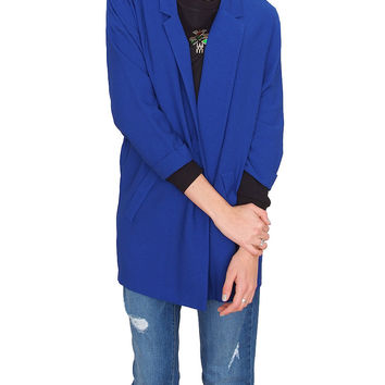 Old School Blazer - Royal Blue