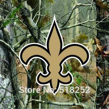 New Orleans Saints real tree camo Flag 150X90CM NFL 3x5 FT Banner 100D Polyester Custom flag grommets 6038,free shipping