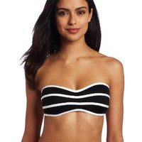 JAG Women's Jag Solid Bandeau Swimsuit Top