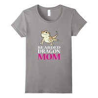 FUNNY BEARDED DRAGON MOM T-SHIRT Pet Owners Lizard Gift