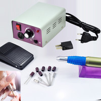 Professional Nail File Complete Acrylic Manicure Drill Sand Electric Machine New