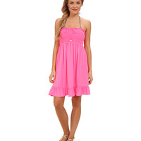 Juicy Couture Bow Chic Smocked Cover-Up Dress
