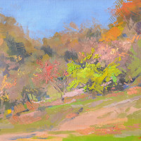 Landscape Oil Painting - Fall Painting - Nature Painting - Contemporary Landscape Art