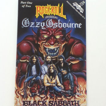 OZZY OSBOURNE Black Sabbath Rock n Roll Comic Book Part 1 of 2 Second Printing #28 June / January 94 Issue