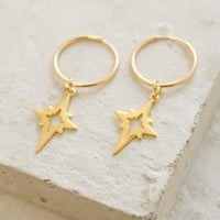 Charm Hoops - North Star